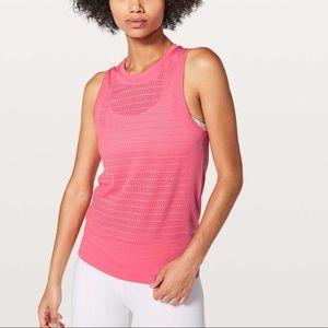 Lululemon Breeze By Muscle Tank Top Pink 12